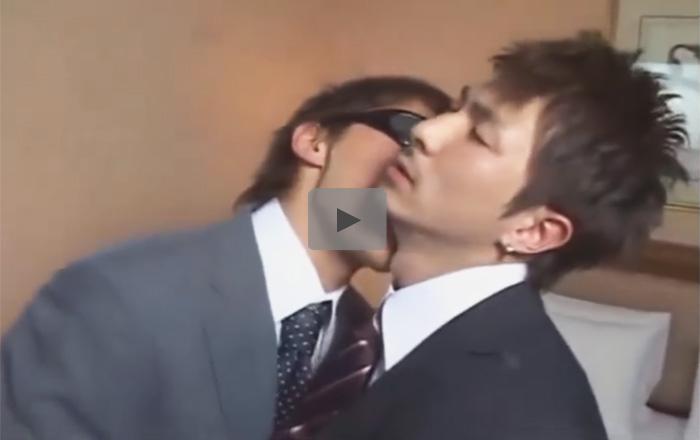 【無修正ゲイ動画】リーマンカップルの濃厚な種付けセックス…イケメンのウケのケツマンを生チンポでガン掘りし2発中出しww