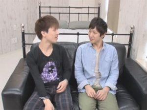 【ゲイ動画ビデオ】弱々しい顔をしている2人のゲイカップルがアナルセックスをして愛し合っちゃうww