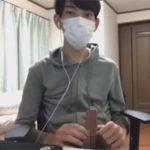 【無修正ゲイ動画】マスク姿の細身の素人DKがオナニーを激しく楽しんで絶頂をする姿を見せてくれるww