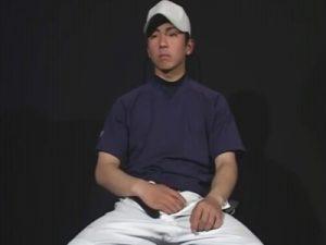【ゲイ動画】野球一筋の18歳の体育会系男子がゴーグルマンにアナルを突かれ口内射精で精液をナイスキャッチww