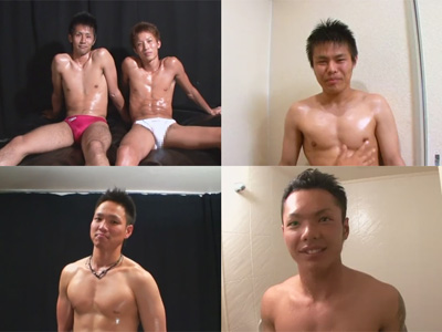 【ゲイ動画】スジ筋マッチョのイケメン同士がセックスしたりゴーグルマンにヌカれたり犯される2時間超えムービーww
