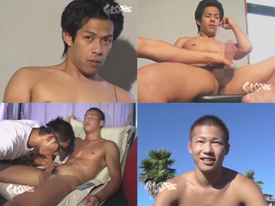 【無修正ゲイ動画】ノンケのライフセーバー男子やヤンチャ系イケメンが登場…アナルやチンポを可愛がられて白濁液を発射するww