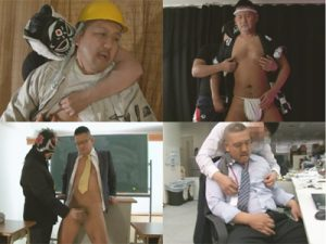 【ゲイ動画】働き盛りのオヤジが多数登場…ゴト着やハッピに褌やスーツ姿で男臭いガチムチバリウケ野郎がアナルセックスww