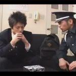 【ゲイ動画】万引きをした少年が警備員の男に捕まってアナルとチンコをいじられてアナルセックスで犯されるww