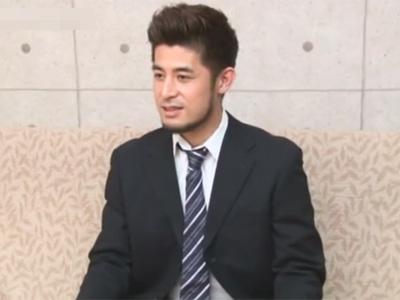【ゲイ動画】34歳のノンケの結婚をして子供がいるサラリーマンがゴーグルマンのケツマンコでアナルセックスを楽しむww