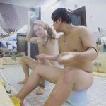 【無修正ゲイ動画】銭湯で無防備な姿で体を洗ったり風呂を楽しんでいる男たちの姿を盗撮ww