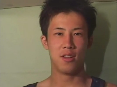 【ゲイ動画】金玉がデカい18歳のサッカー部の素人スポメンが男性からの責めを初体験し緊張する中で濃い精液を発射ww