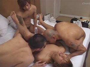 【ゲイ動画ビデオ】極道の雰囲気を漂わせている男たちのアナルセックス姿をたっぷりと楽しめるww
