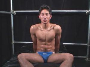 【ゲイ動画】188センチの細マッチョ北沢大吾クンが何度もイキそうになりながらチンポもアナルも弄ばれてドエロにモロ感ww