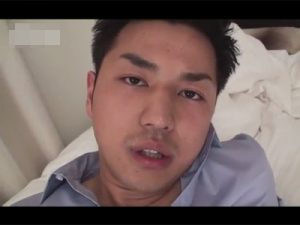 【ゲイ動画ビデオ】爽やか系イケメンがゴーグルマンとアナルセックスをしたりスーツ姿でオナニーを披露しちゃうww