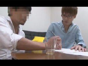 【ゲイ動画ビデオ】ガクトに似ているイケメン学生が家庭教師の男と性的な関係になってアナルセックスを楽しむww