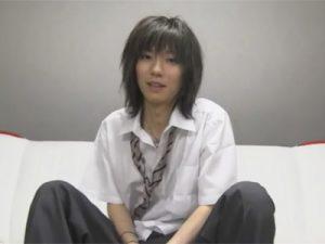 【ゲイ動画ビデオ】男子高生の咲耶と2人っきり…「オナニーを見せて」とお願いしマラをシコって精子を出すところをカメラ撮影ww